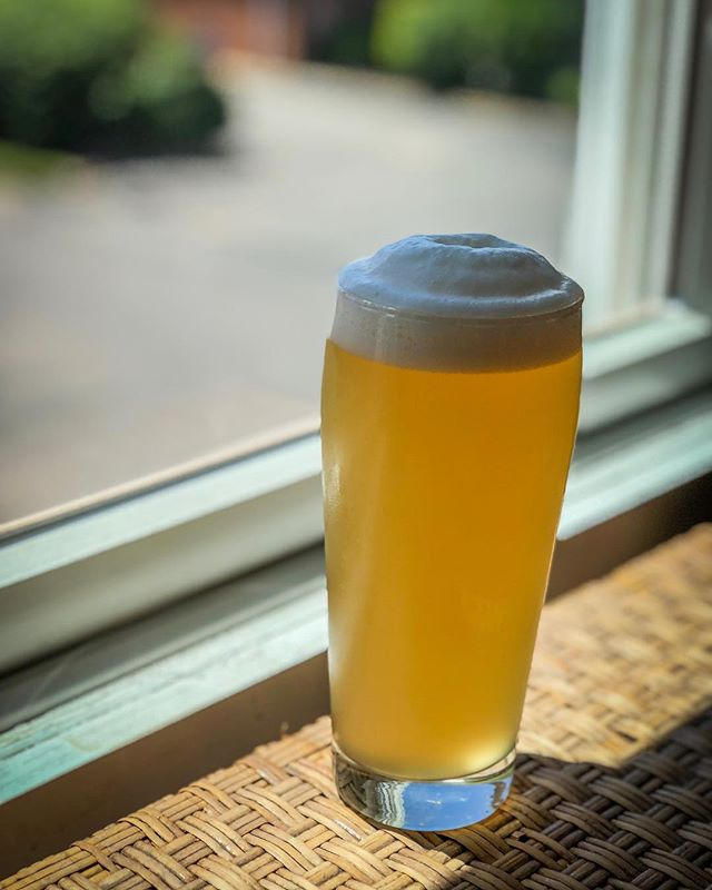 Haus Pilsner. Our brewer's reserve lager beer sees very limited release into the world. We keep this liquid as close to home as possible, and when the last keg runs dry, we brew it again. This last batch was hopped with Hallertau Blanc, boasting a crackery body with hop notes of subtle white wine. #originalgreenport #theogseries