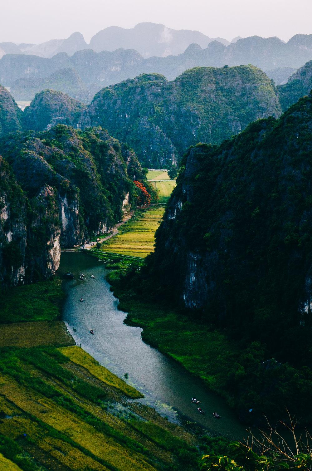 Hang Mua Peak, Vietnam.