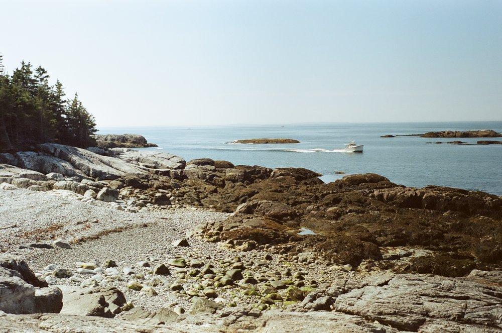 Isle au Haut, Maine.