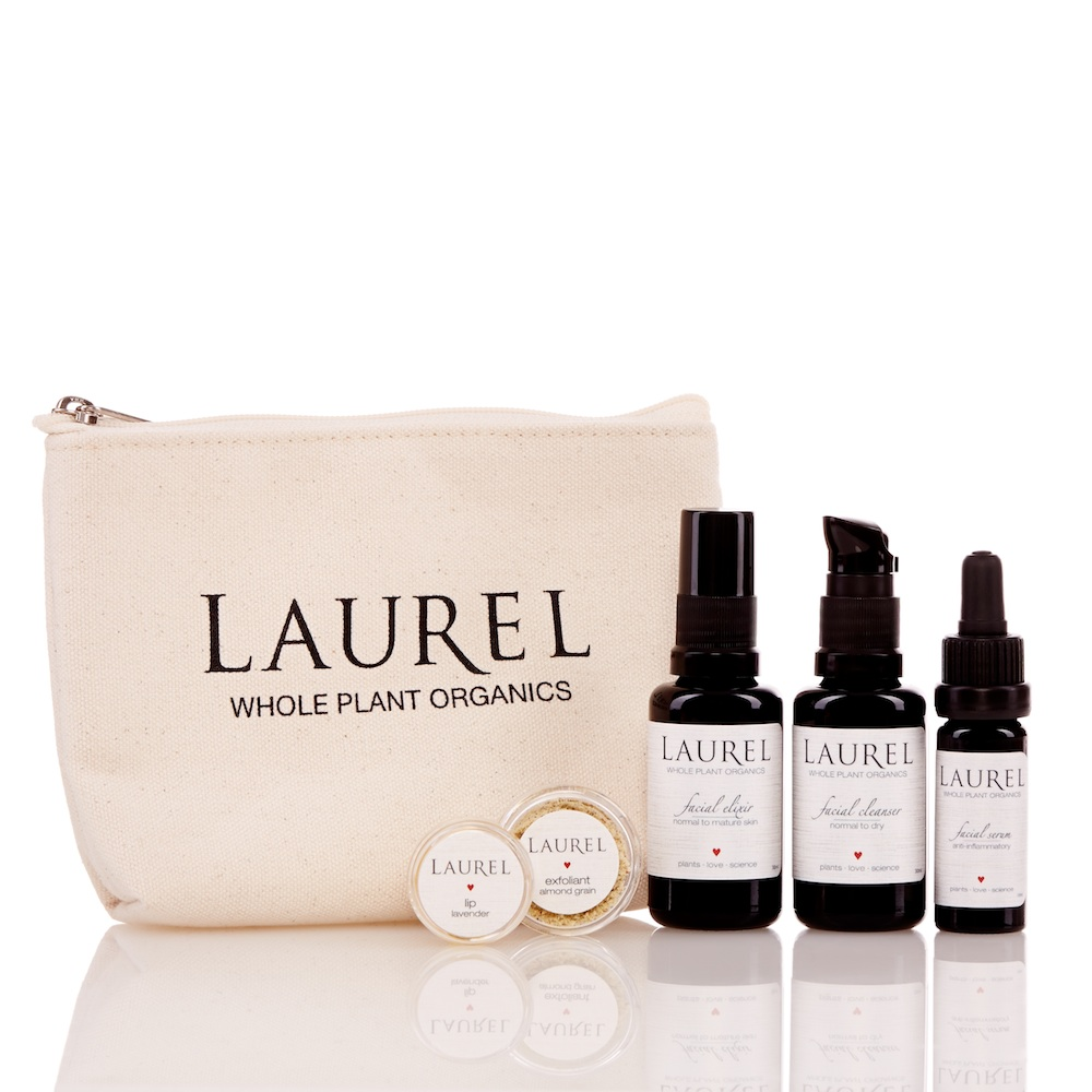 My all-time favorite organic skincare line. $68 for this power-packed travel kit made right here in my own Marin County. These oils, elixirs and serums smell heavenly. Ahhhh......