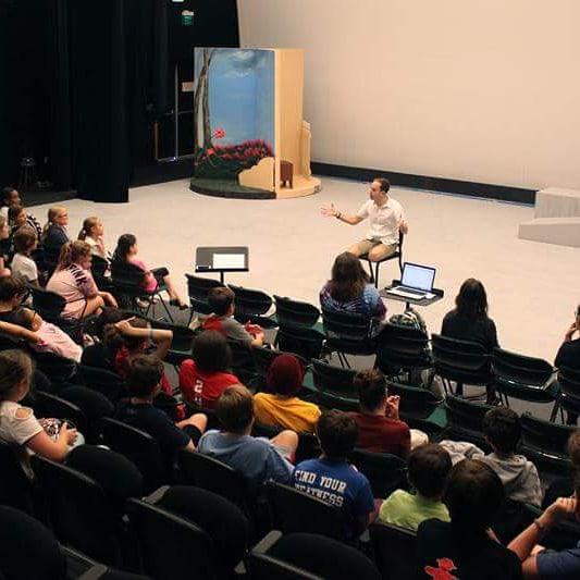 Teaching a Masterclass @ Patel Conservatory, FL.