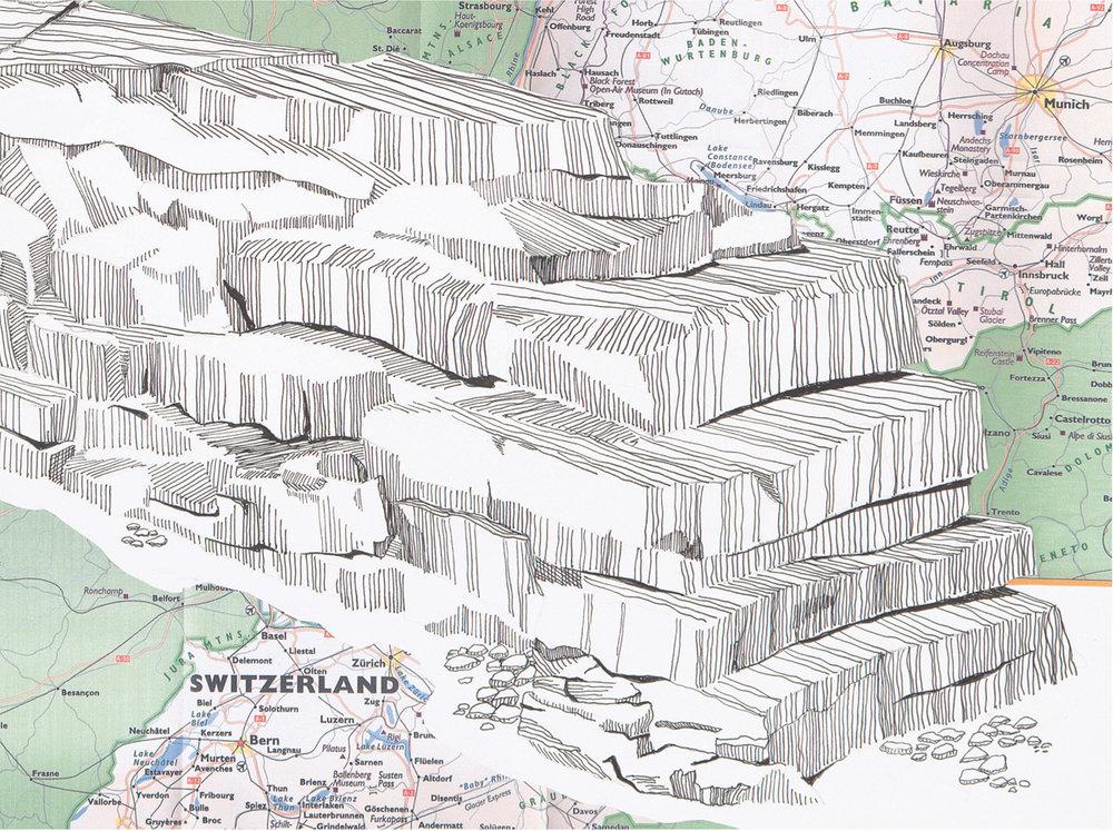 Matterhorn Rock Fence