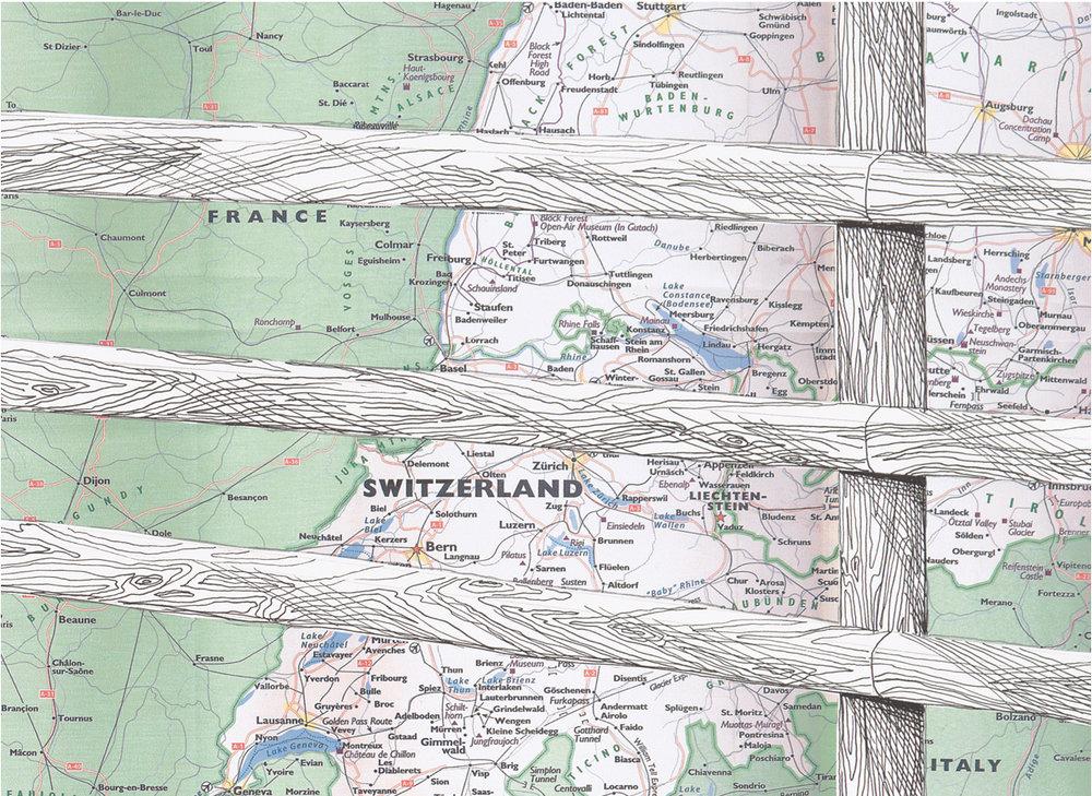 Matterhorn Wood Fence