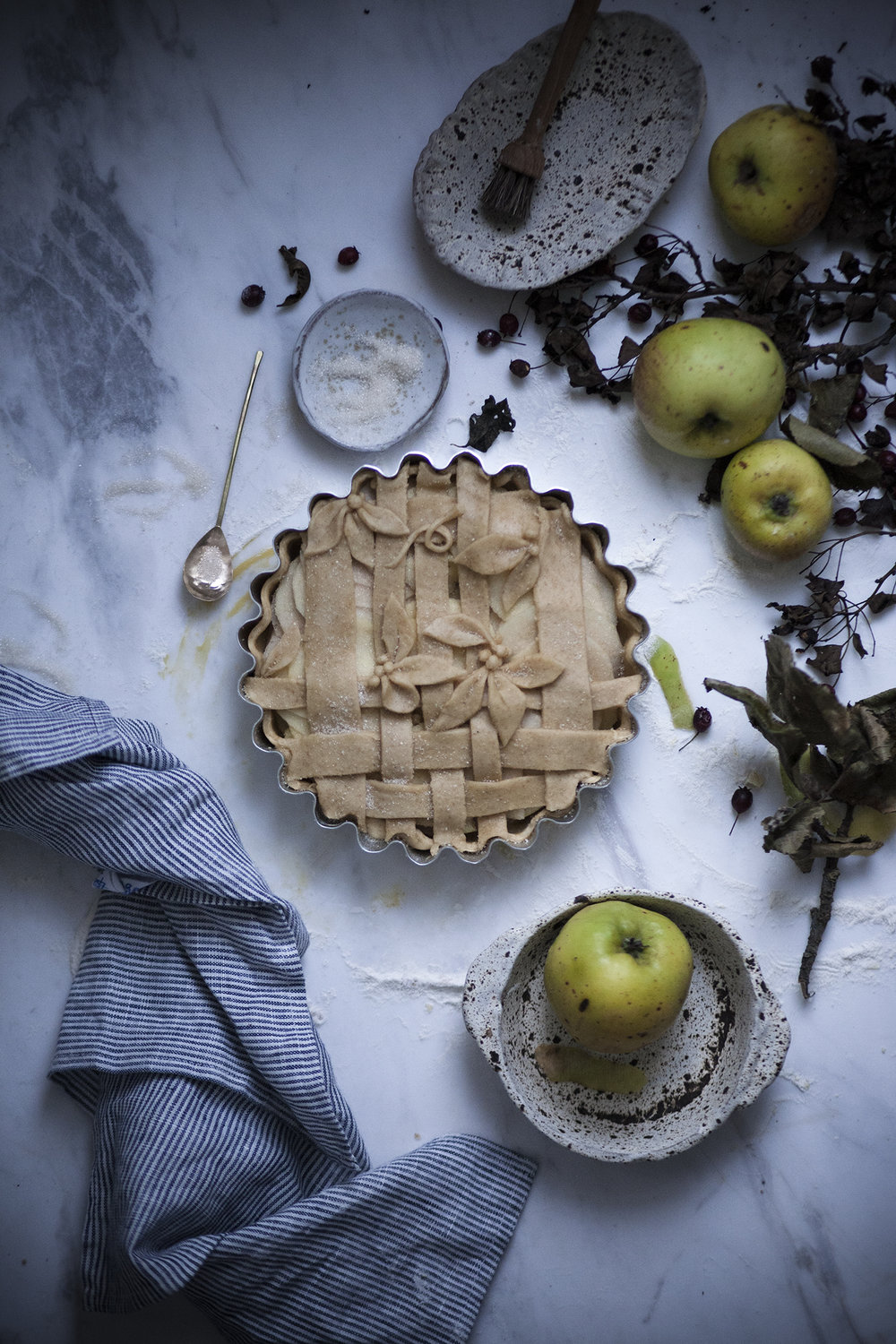 apple crostata_salvialimone
