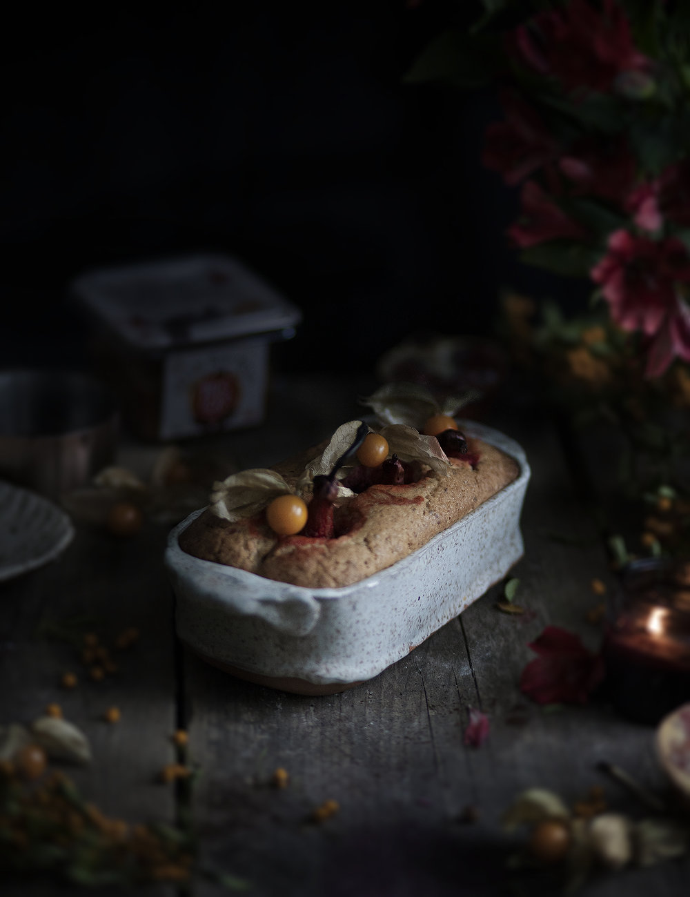 pears and cramberries cake_salvialimone