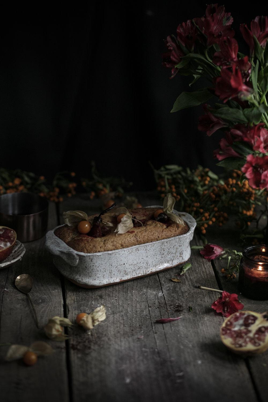 pears cramberries cake_salvialimone