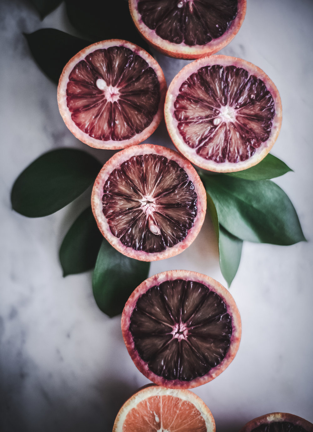 paleo pink tarts with blood oranges _ www.salvialimone.com