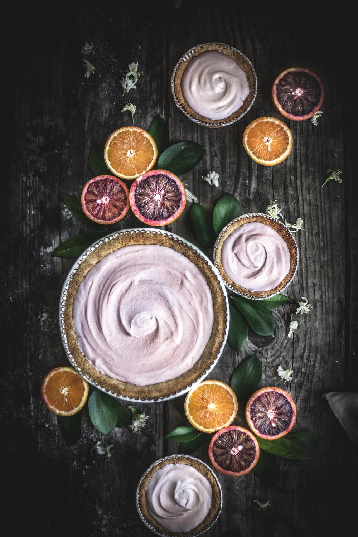 pink paleo tarts blood oranges_www.salvialimone.com