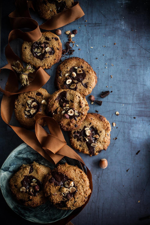 chocolate chips cookies #vegan #glutenfree