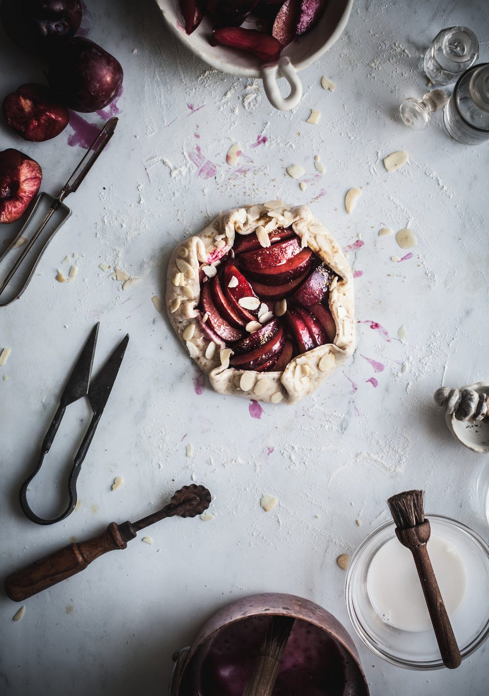 easy plum and almond gallettes.JPG