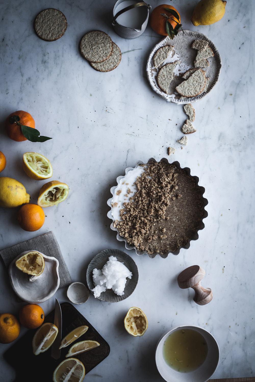 easy lemon pie (vegan &gluten free)