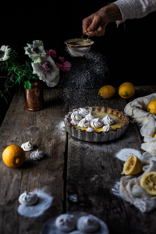 Easy Lemon Pie (Vegan & Gluten free)