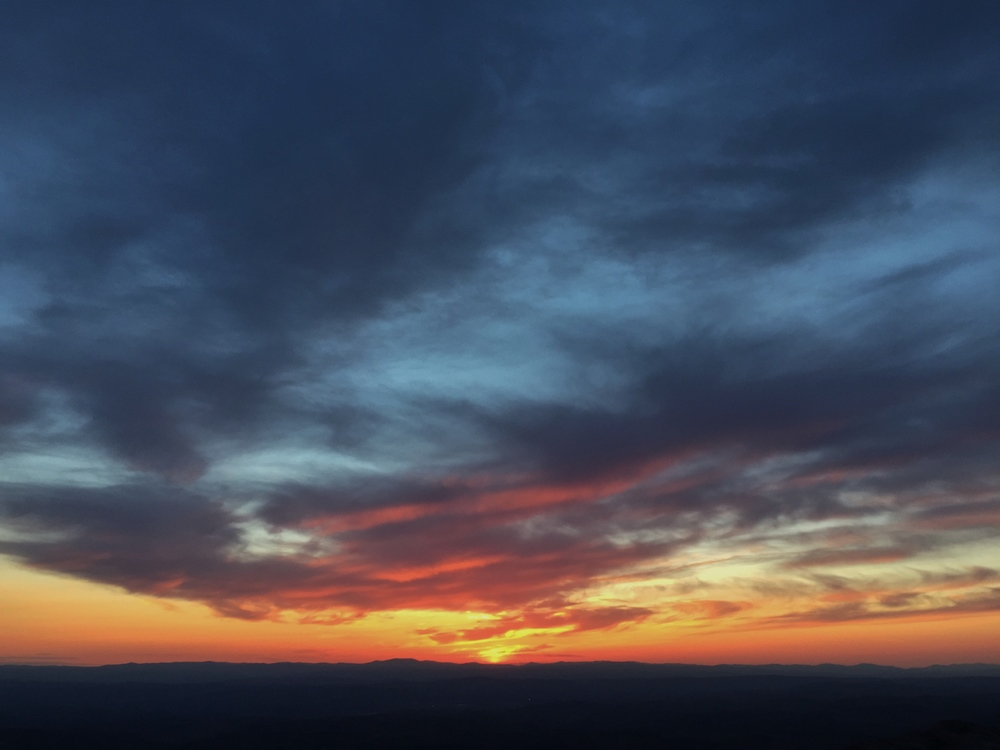 Afterglow on Mount Monadnock 1