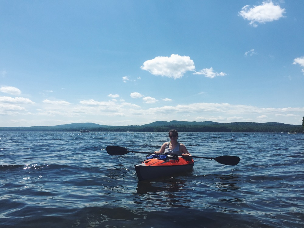 Lake Sebago Kayaking