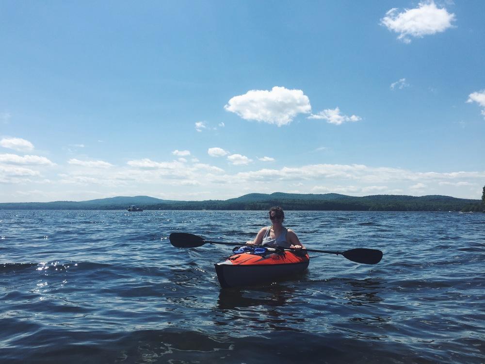 Lake Sebago Kayaking