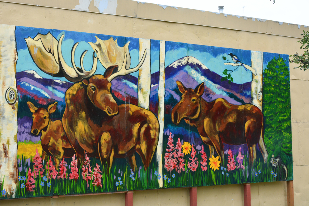 Moose Wall Art in Anchorage