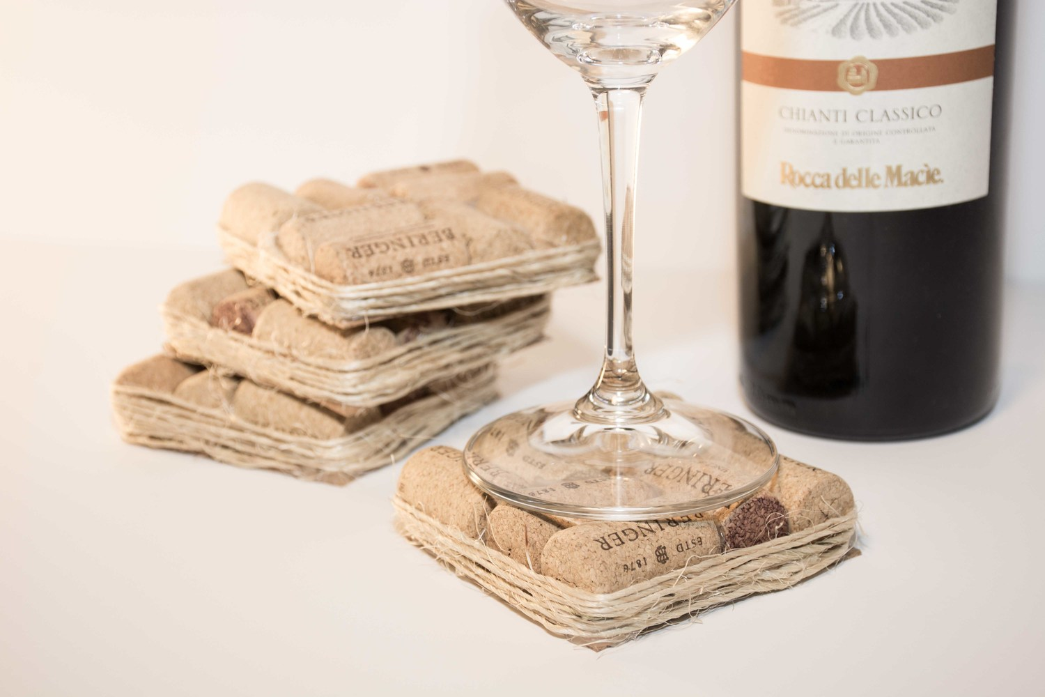 Diy Wine Cork Coasters Anton Pugachevsky Photographer