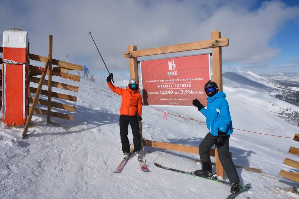 Larisa and Anton Summit of Breckenridge Imperial Express