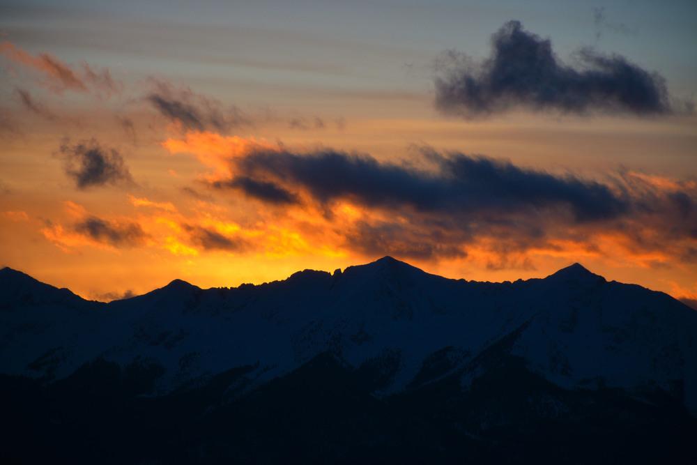 Stunning Sunset from Keystone Summit