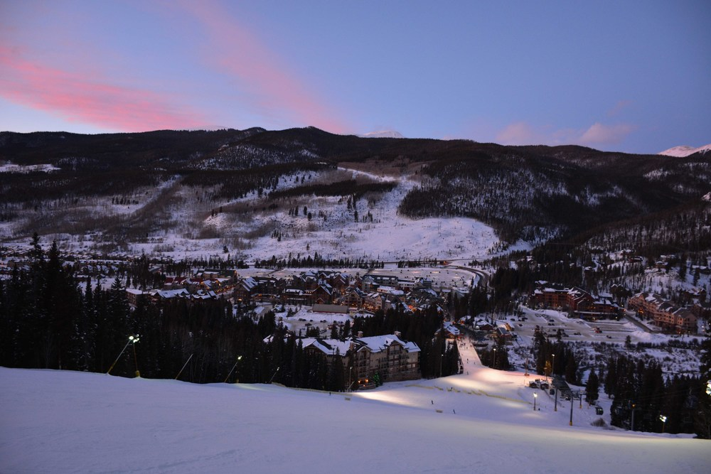Keystone Night Skiing