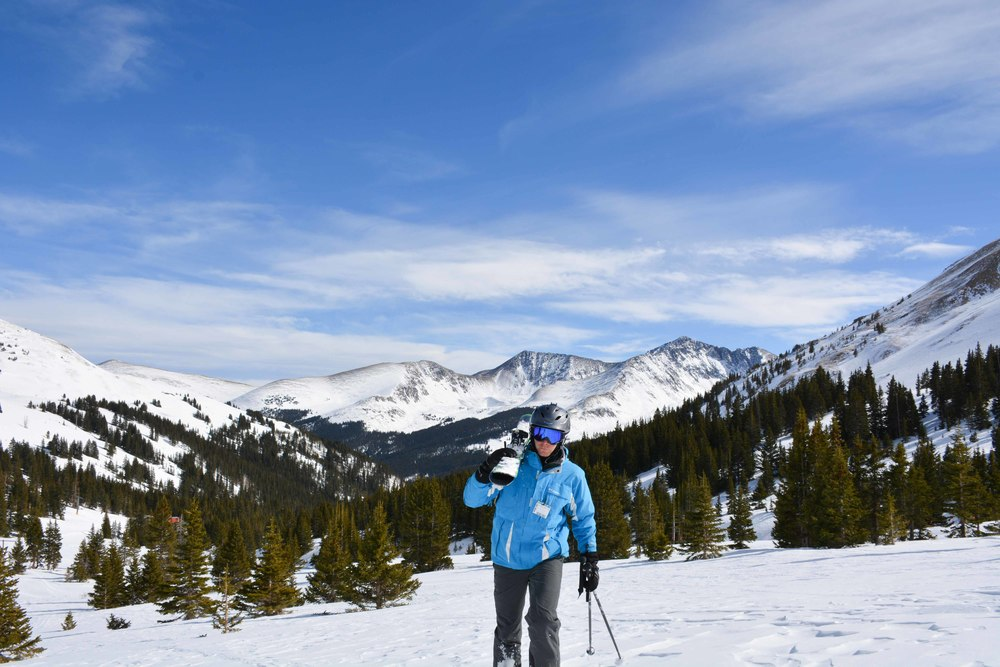 Backcountry Skiing at Copper Mountain
