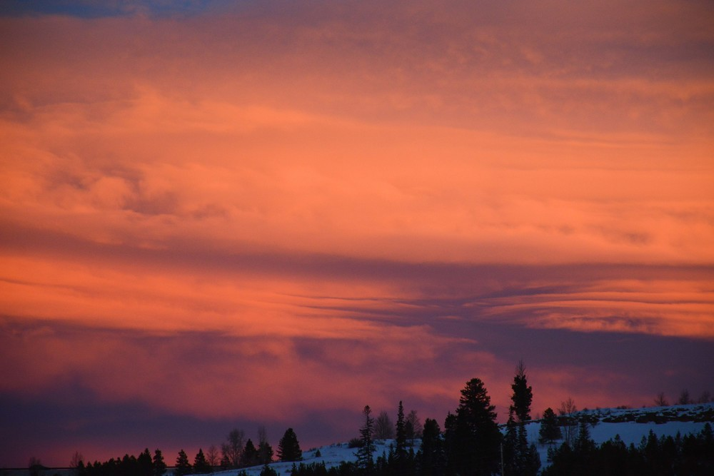 Stunning Sunset in Silvertorne