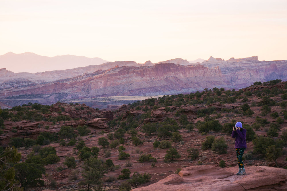 Capitol Reef Sunrise