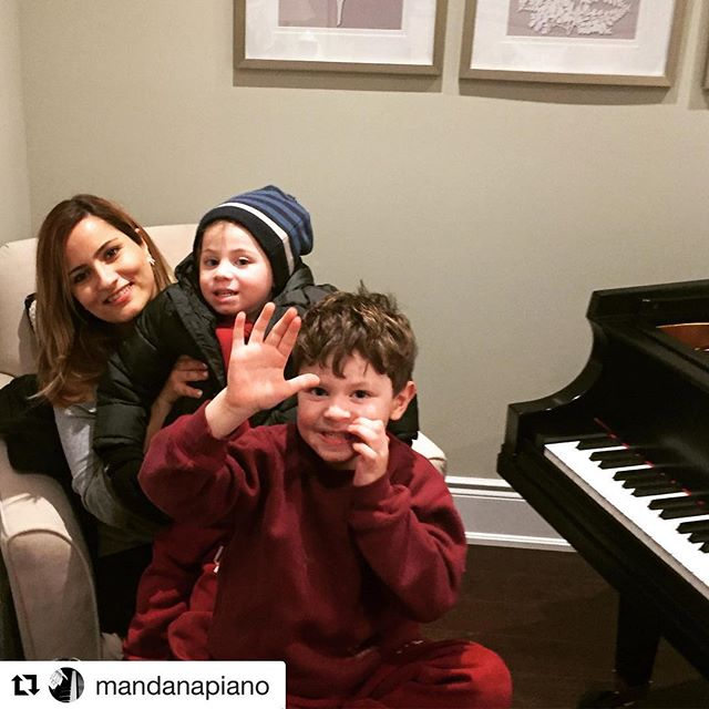 Our wonderful piano teacher Ms. Mandana with our lovely students Jacob and Carter ❤️ #Repost @mandanapiano with @get_repost ・・・ With my wonderful students, Jacob and Carter.  So cute ☺️🎹❤️😊 . . . . . . . . #musicschool #piano #musiced #pianoconcert #kids #pianolessons #pianoclass #startup #teachersofinstagram #teachers #mentors #learning #musiclessons #vocallessons #singing #guitarlessons #guitar #taylorswift #frozen #disney #classicalpiano #jazz #moana #starwars #pop