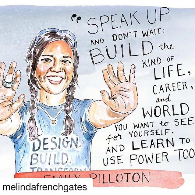 #WomenEmpowerment  #Repost @melindafrenchgates with @get_repost⠀ ・・・⠀ Meet Emily Pilloton. As the founder of Project H Design and Girls Garage, she's making history by empowering girls to build, engineer, and bring their ideas to life—and use those skills to lift up their communities. ⠀ #WomensHistoryMonth (Illustration by @kimothyjoy) . . . . . . . . . . #musicschool #musicacademy #musiced #musiceducation #education #pianoconcert #pianorecital #pianoperformance #pianolessonstoronto #pianoclasstoronto #pianolessonsnearme #singinglessons #voicelessons #vocallessons #inhomelessons #athomelessons #pianoteacher #guitarteacher #voiceteacher #vocalteacher #teachersofinstagram #teachers #mentors #confidence #torontokids #torontomoms