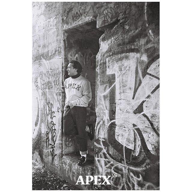 APEX® | Tartan Champion® Reverse Weave Crewneck 📸 @waytwostoked