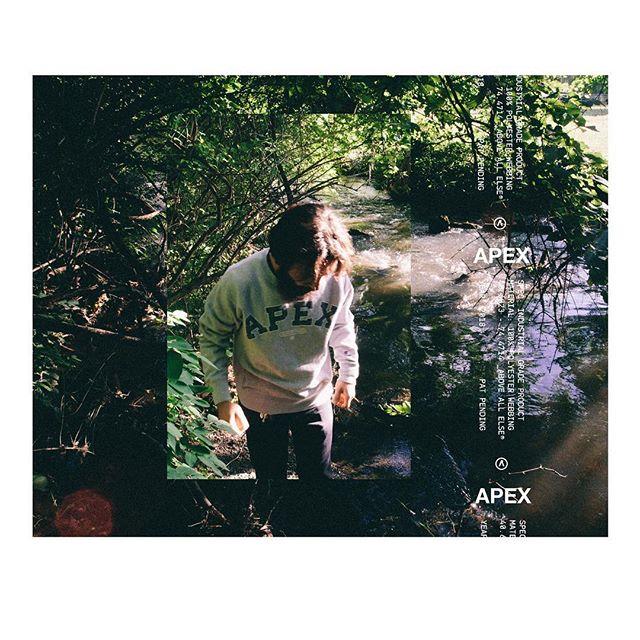 APEX® Tartan Crewneck  Champion Reverse Weave Restock Soon