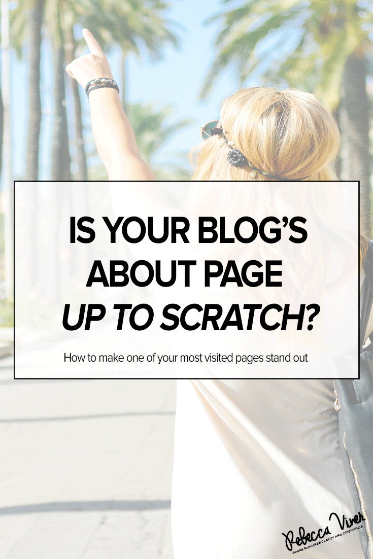 How to create an amazing about page for your blog