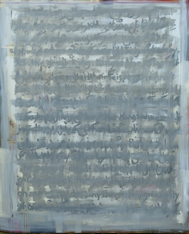 Cyrus's Letter ( 150 x 120 cm )