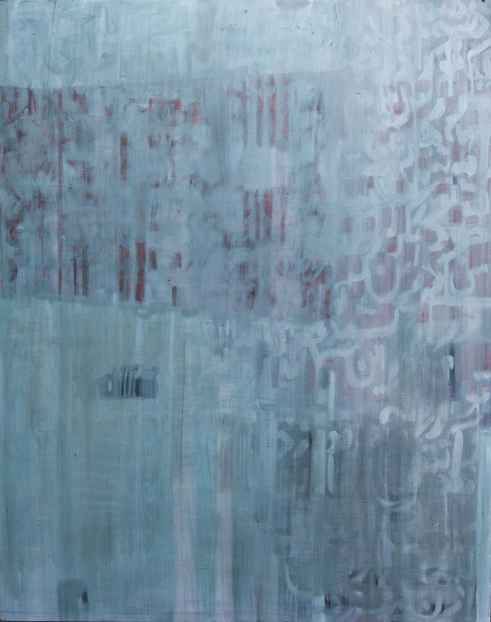 Blue Poem 150x120cm