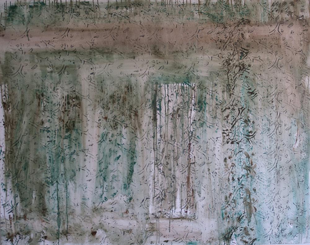 Green Memory- 120x150cm