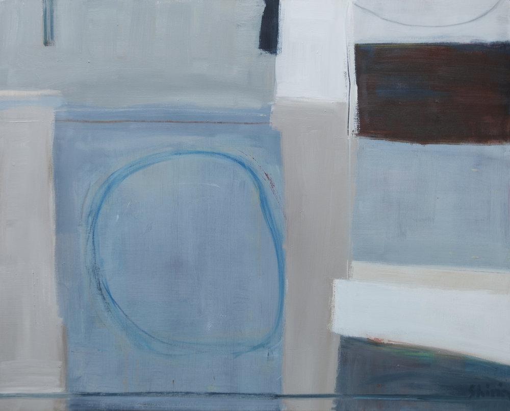 Blue Circle 80x100cm