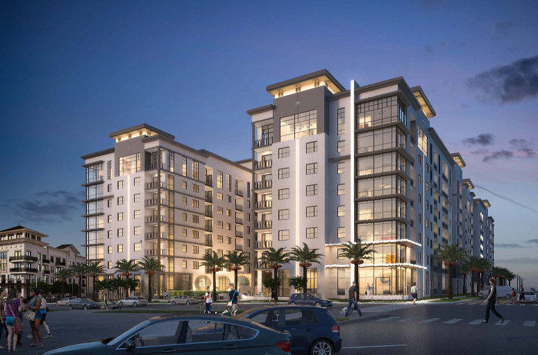 9 story apartments to break ground in downtown st pete for One story apartments