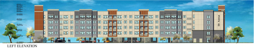 The richman group proposes 132 unit apartment building in for 6 unit apartment building