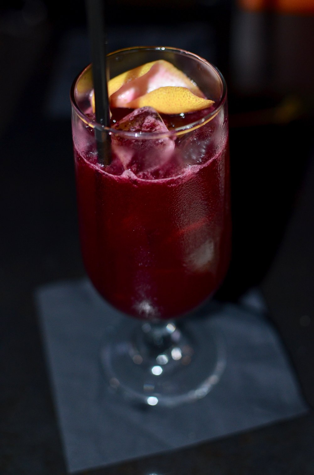 give me the beet - ketel one vodka, aperol, beet, ginger syrup, and lemon