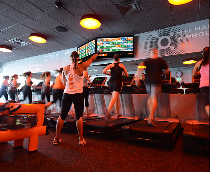 Group Cardio at Orangetheory Fitness
