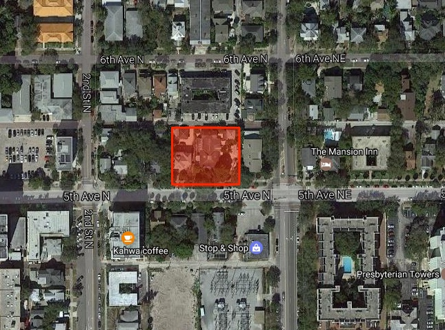 Location of the project at 121 5th Ave N