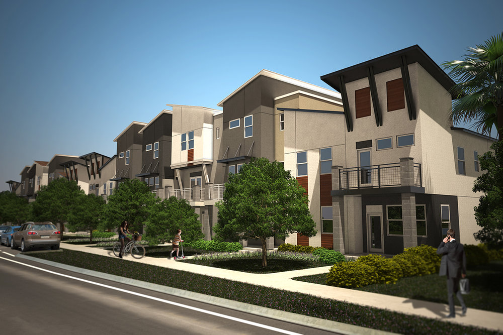 Modern Townhomes Proposed Minutes From Downtown St Pete