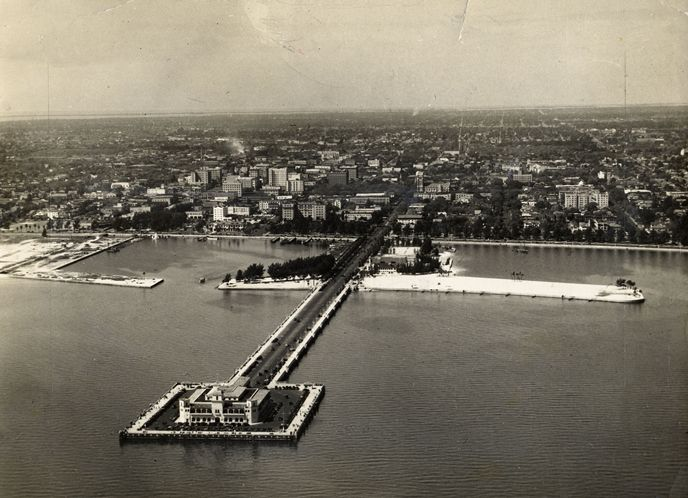 "St. Pete's ""Million Dollar Pier"" open in 1926 and was demolished in 1967."