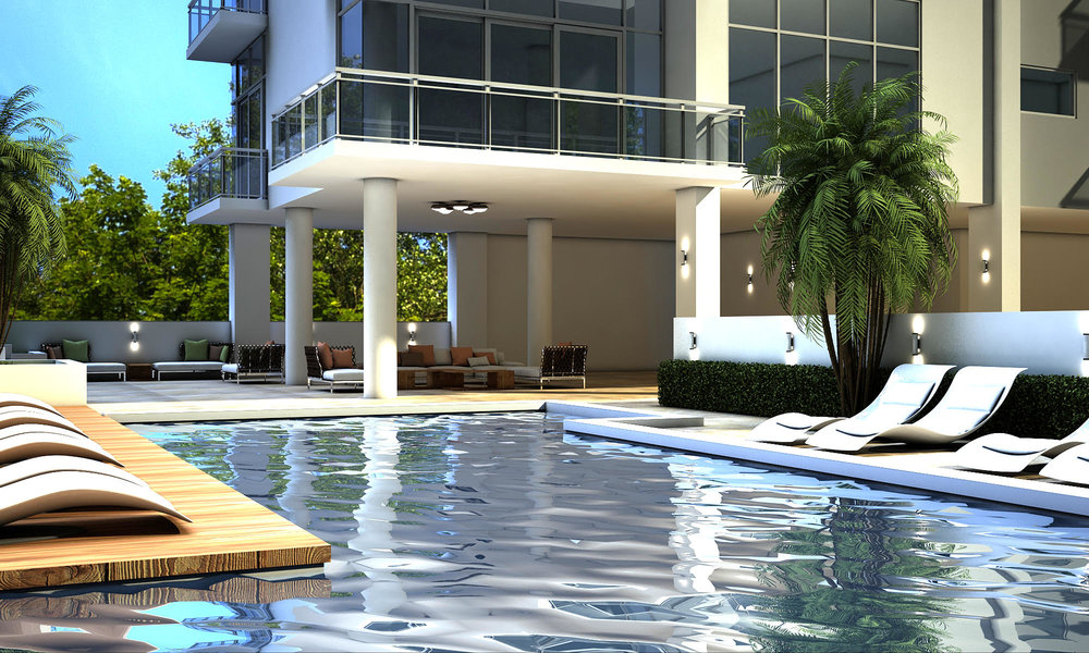 The Bezu will feature an open-air pool and hot tub which will be located on the 6th floor.