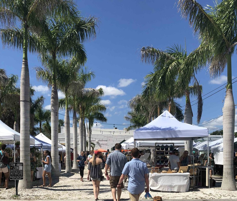 Site of the Royal Palm Market in the EDGE District of Downtown St Pete