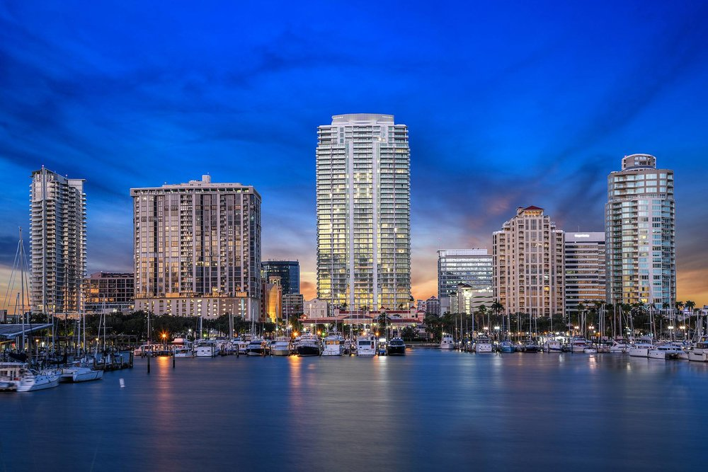 At 450 feet, ONE St. Petersburg would be about 50 feet taller than Bayfront St. Petersburg