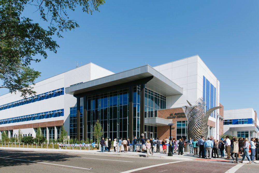 Last week, the St. Pete Police Department celebrated the opening of their new $79 million headquarters at 1301 1st Avenue North.
