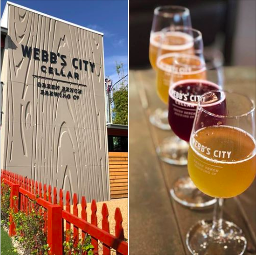 Webb''s City Cellar also has a large list of guest bottles of wild and sour ales for on-site consumption only