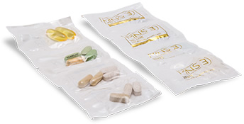 CONVENIENT STRIP PACKS No need to worry about multiple bottles taking up space in the cabinet or your bag as you go about your day. A single strip-pack is all it takes!