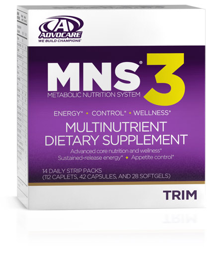 Our #1 Seller  MNS® 3 is our most comprehensive metabolic nutrition system. Not only will you benefit from appetite control and enhanced energy, you will also receive the best core nutrition with Coreplex®, CardioQ, Calcium Plus and OmegaPlex®.* lt's a fantastic alternative for anyone looking for a lower-caffeine MNS® system in comparison to MNS® C or E.*